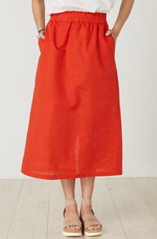 Panvel Skirt - Nasturtium