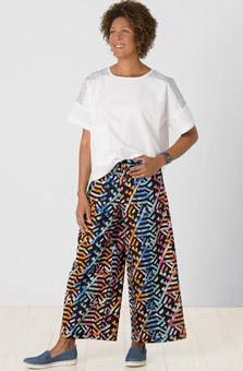 Sangli Pant - Black Multi