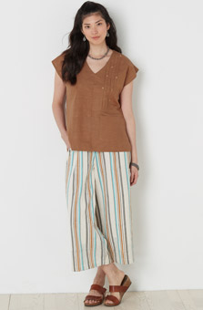 Amaya Pant - Natural Multi