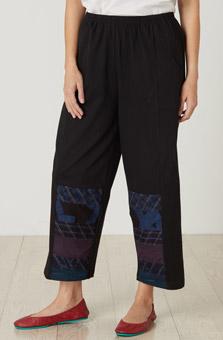 Kesari Pant - Black Multi