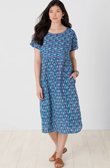 Rashida Dress - Sapphire