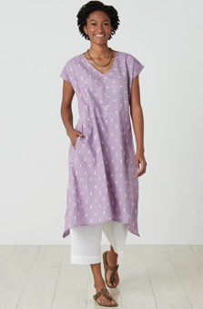 Shefali Dress - Wisteria