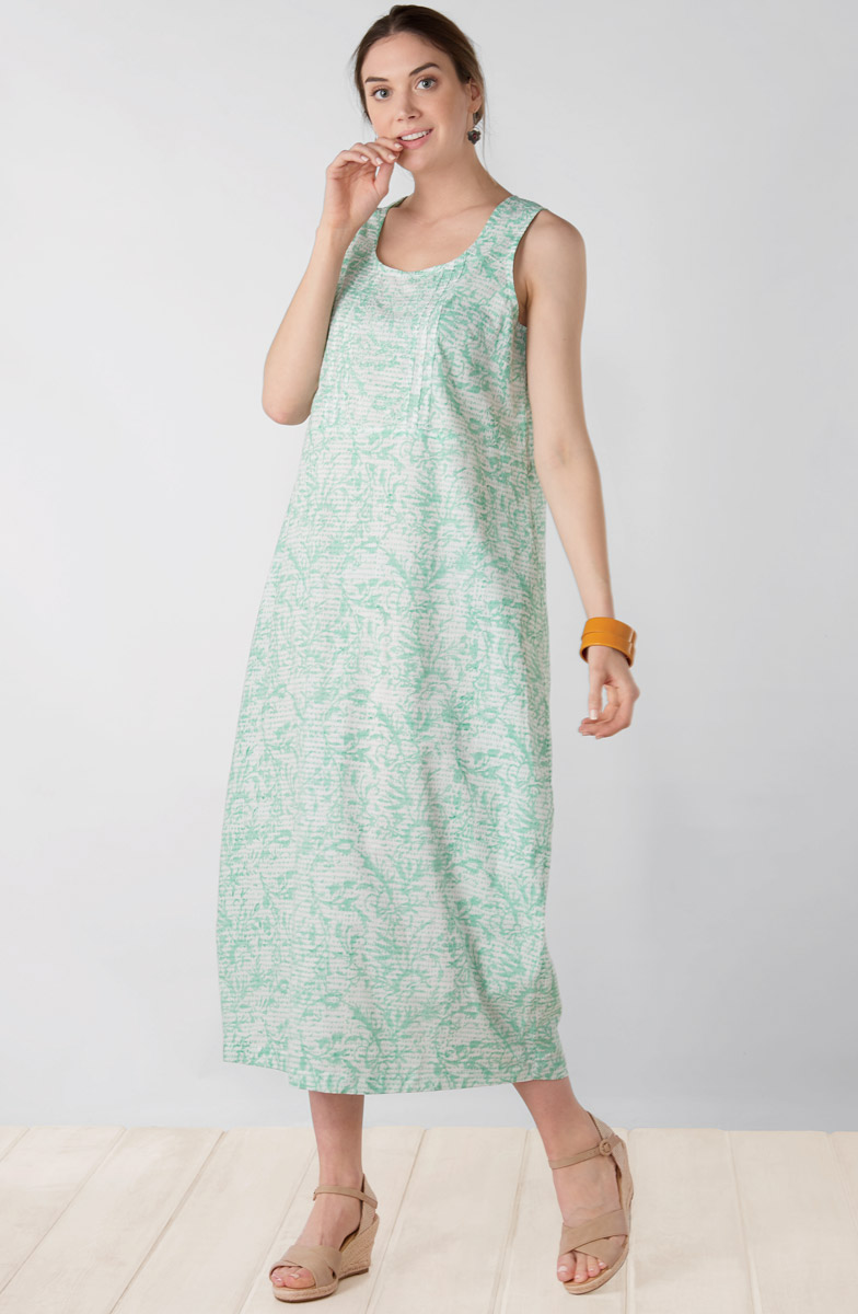 Asha Dress - Mint julep