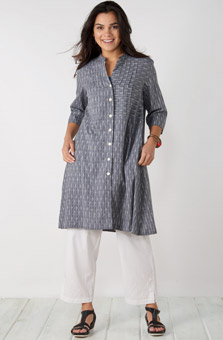 Tijara Tunic - Pewter