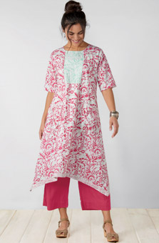 Sonia Dress - Bougainvillea