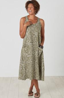 Supriya Dress - Olive
