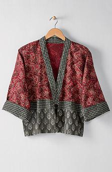 Sikkim Jacket - Cranberry Rye