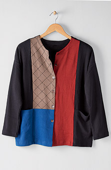 Arushi Jacket - Black Multi