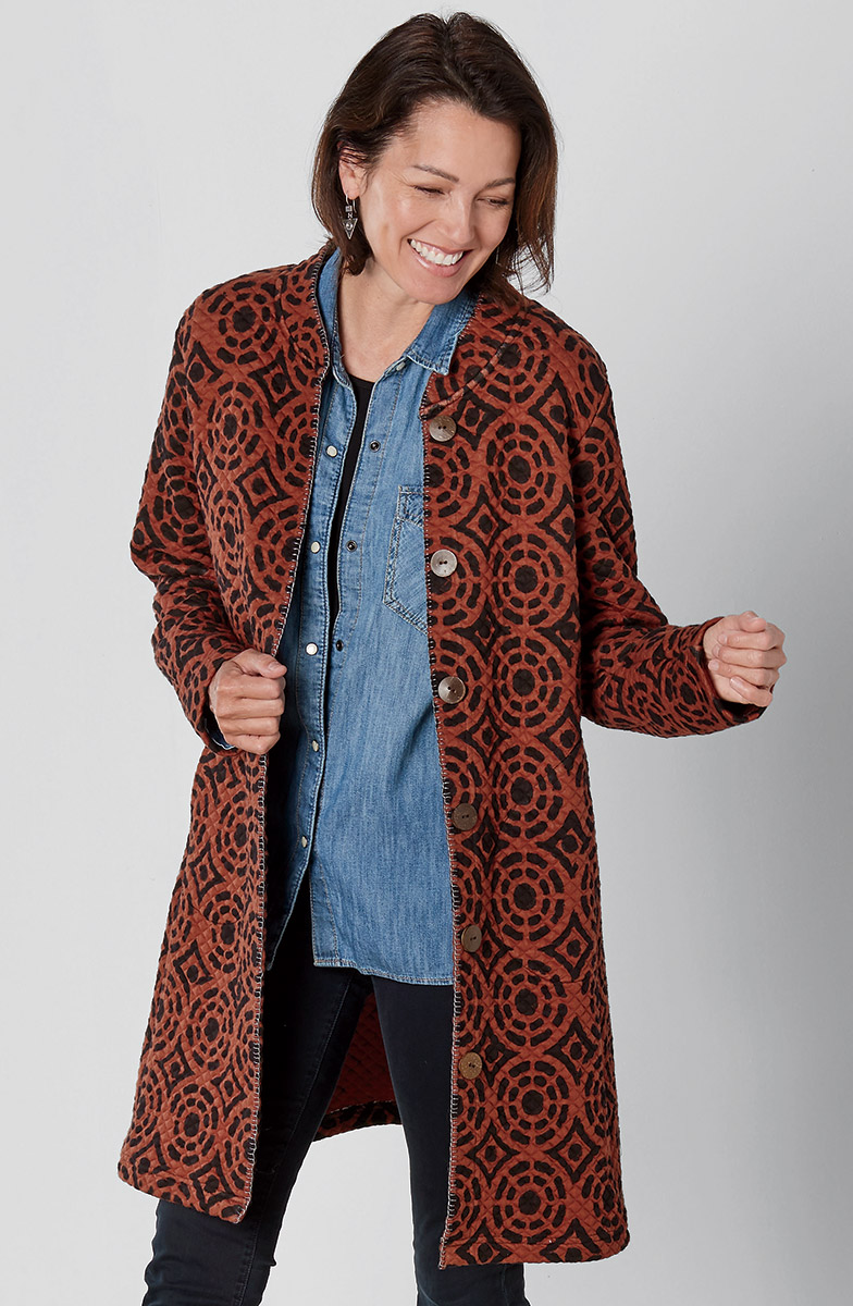 Asmaara Jacket - Brick
