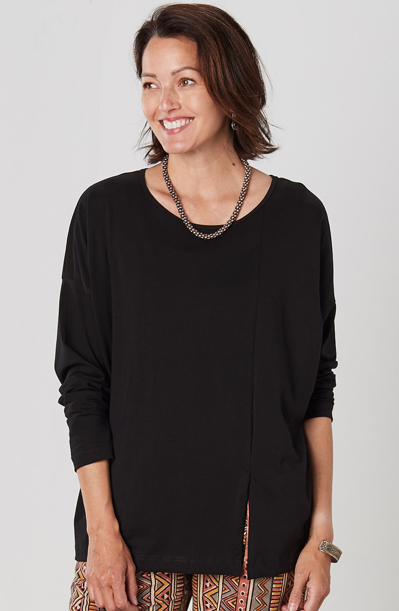 Farida Tunic - Black