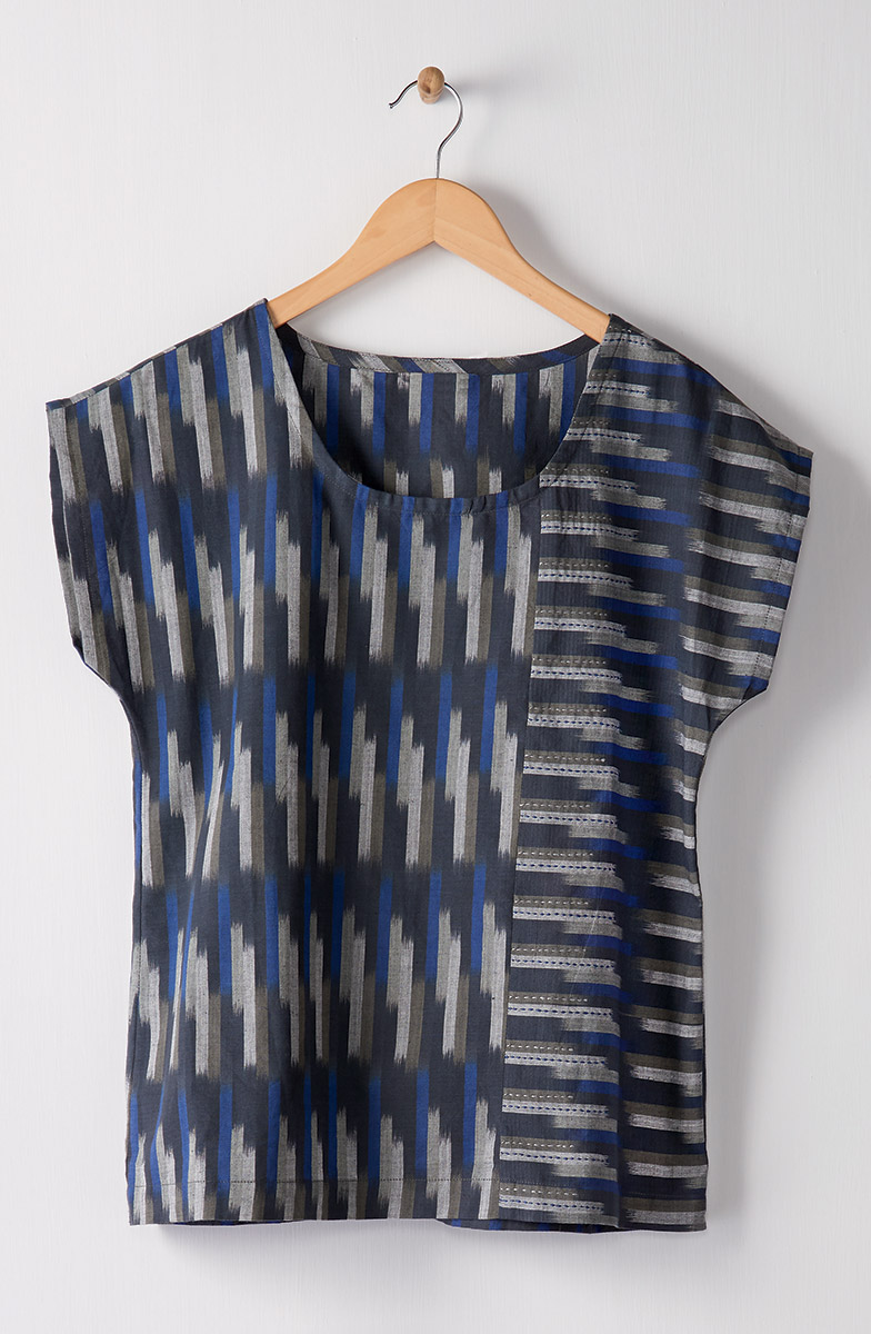 Tivisha Top - Navy