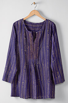 Saloni Tunic - Purple