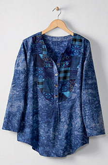 Misha Tunic - Blue