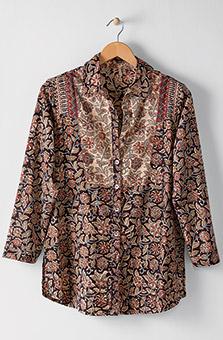Namrita Shirt - Black Multi