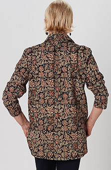 Namrita Shirt - Black Multi