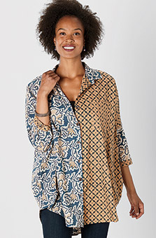 Mandvi Shirt - Natural Toffee