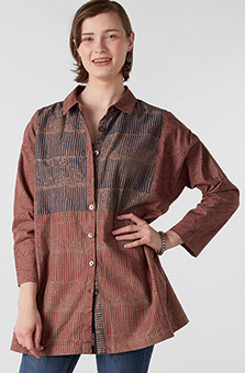 Samya Organic Shirt - Tea