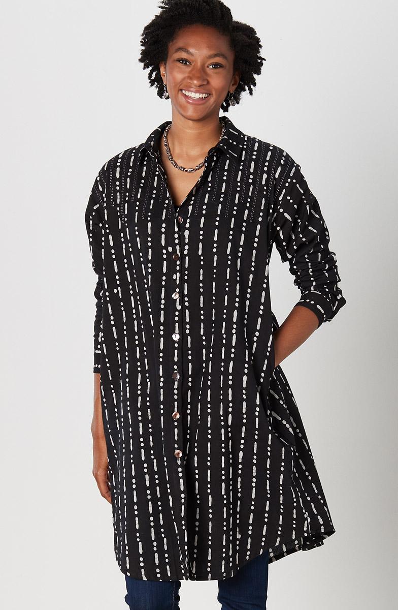Rima Shirt - Black