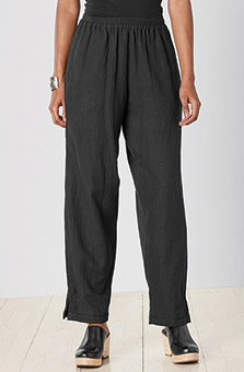 Long Neera Pant - Black