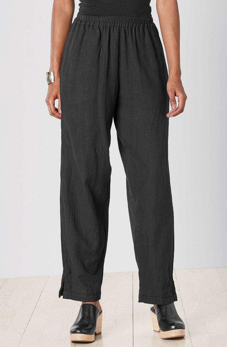 Long Neera Pant - Black