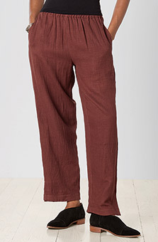 Long Neera Pant - Chestnut