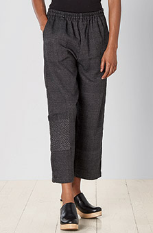 Recycled Yarn Kesari Cargo Pant - Charcoal
