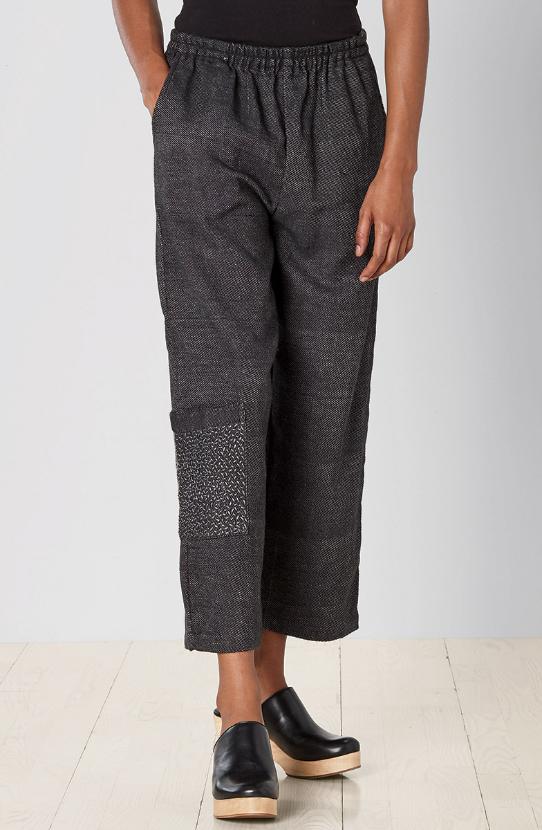 Recycled Yarn Kesari Cargo Pant - Charcoal
