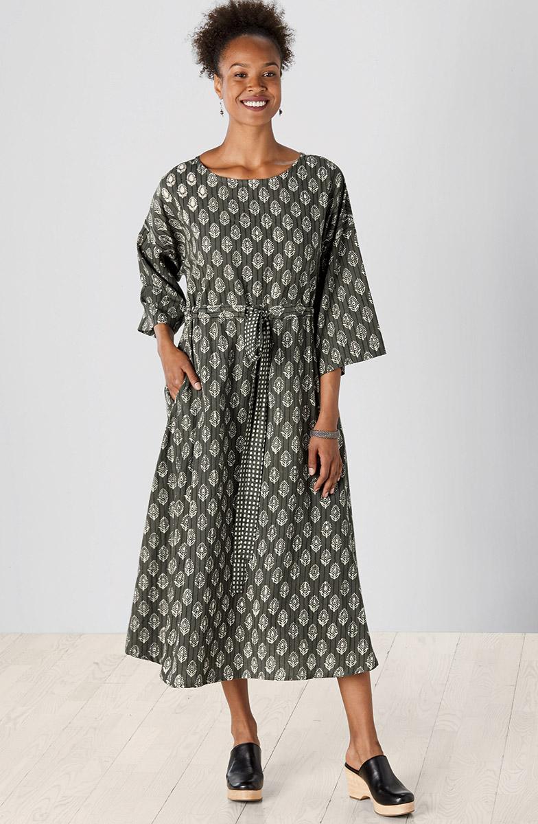Piyali Dress - Rye