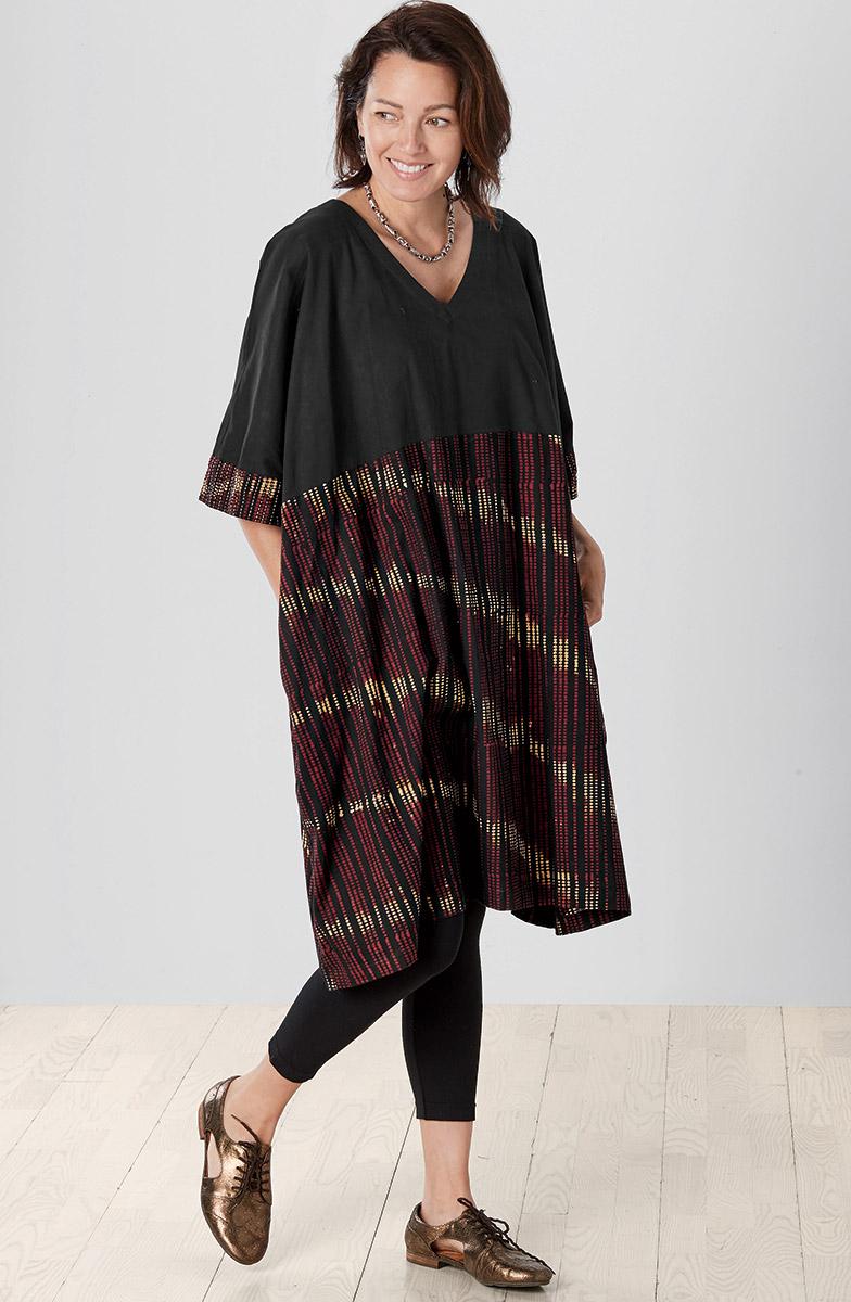 Irla Dress - Black Multi