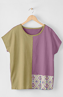 Mathura Tee - Crystal rose/Multi