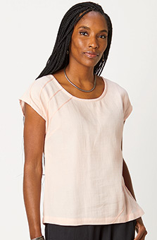 Tivisha Top - Rose quartz