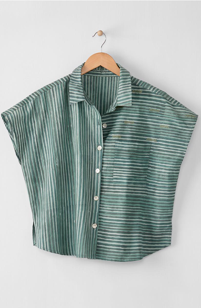 Adira Shirt - Eucalyptus