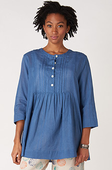 Vasanti Tunic - Ink blue