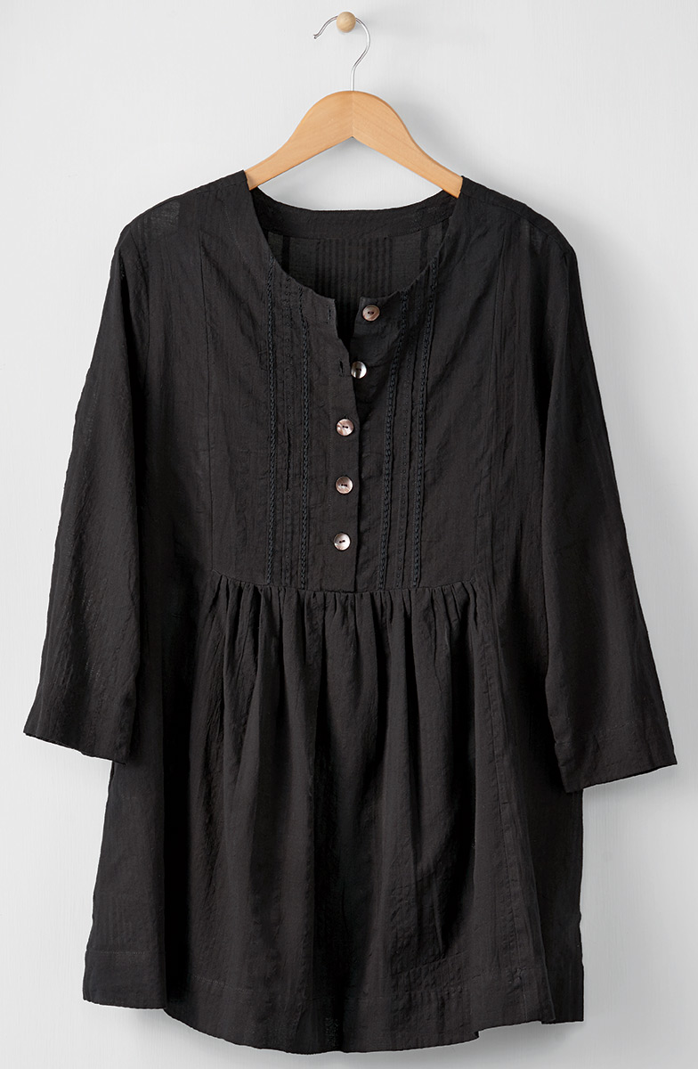 Vasanti Tunic - Black