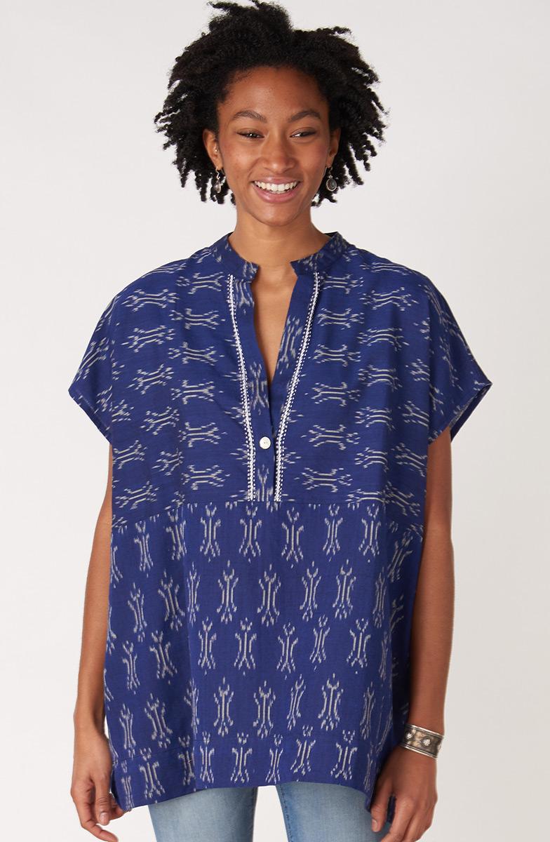 Ambala Shirt - Sapphire
