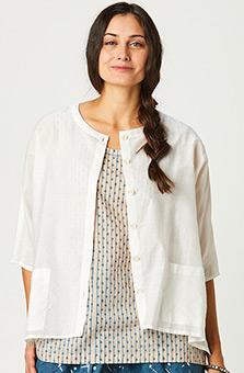 Lavani Shirt - White