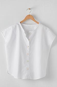 Savya Top - White