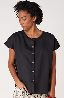 Savya Top - Black