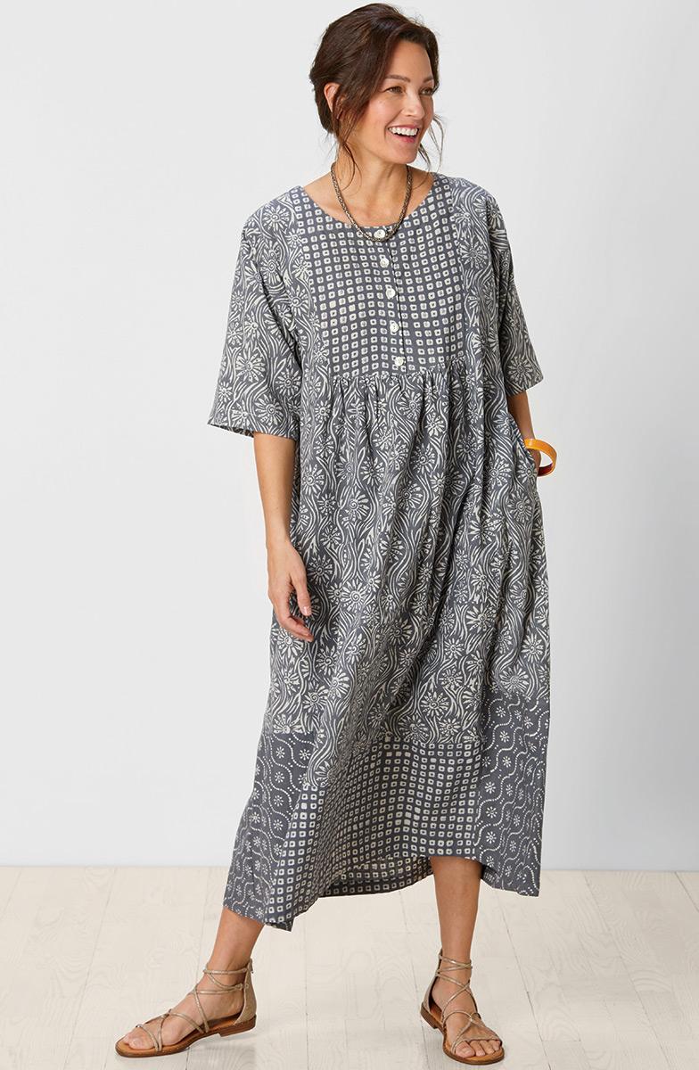 Zamania Dress - Moonstone