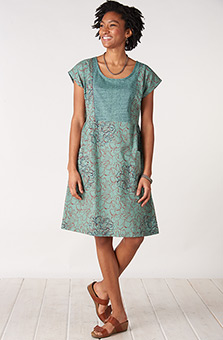 Nasreen Dress - Jade