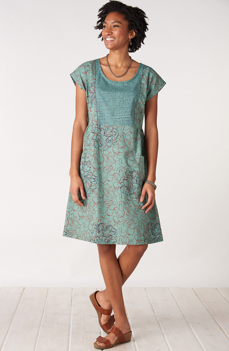 Nasreen Dress - Jade