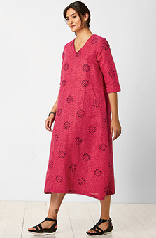 Ratna Dress - Allium/Multi