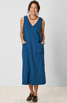 Seema Dress - Ink blue