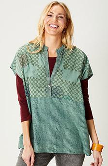 Ambala Organic Shirt - Jade