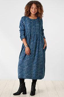 Antara Dress - Ink blue