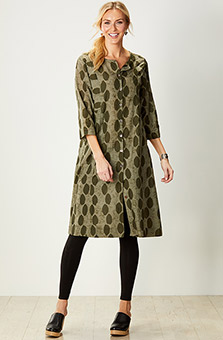 Bhavika Dress - Olive