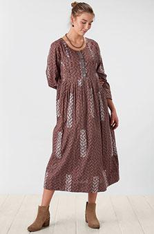 Geethali Dress - Dusty plum