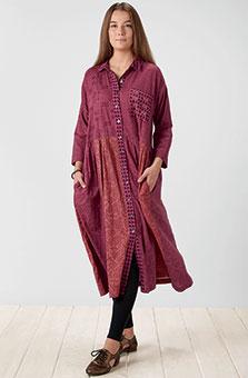 Manisha Dress - Plum