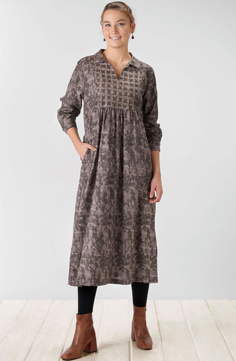 Shilpa Dress - Mushroom