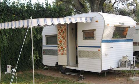 How to Get Off Grid in a Vintage Travel Trailer - Matador ...